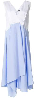 Jil Sander Navy layered skirt shift dress