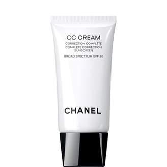 Chanel Cc Cream, Complete Correction Sunscreen Broad Spectrum Spf 50 20 Beige
