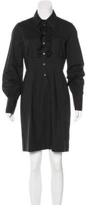 Diane von Furstenberg Long Sleeve Shift Dress