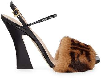 Fendi FFreedom high-heeled strap sandals