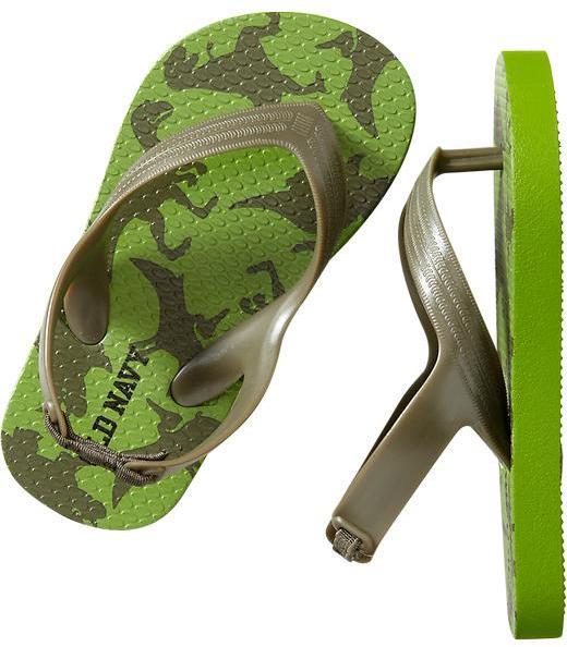 Old Navy Ankle-Strap Flip-Flops for Baby