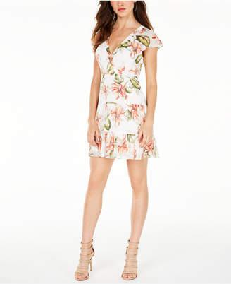 GUESS Short-Sleeve Iola Dress