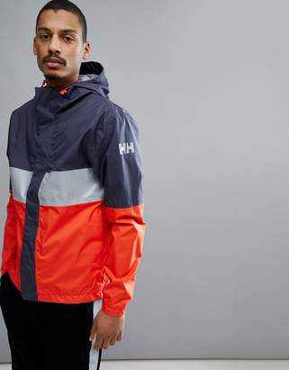 Helly Hansen Active Jacket In Navy/Red