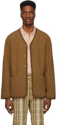 Our Legacy Brown Tiroler Cardigan
