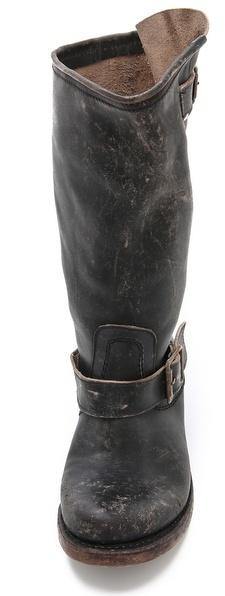 Freebird by Steven Crosby Flat Buckle Boots