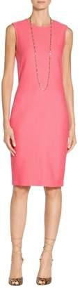 St. John Hannah Knit Sheath Dress