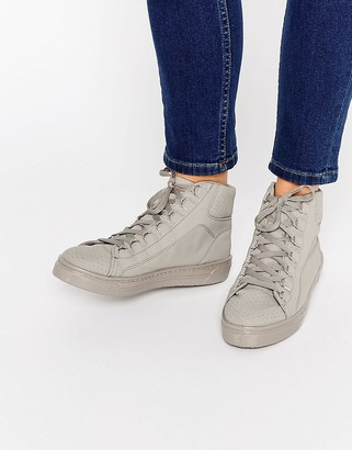 ASOS DOWN LOAD High Top Sneakers $46 thestylecure.com