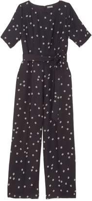 Vince Camuto Ditsy Floral-print Jumpsuit
