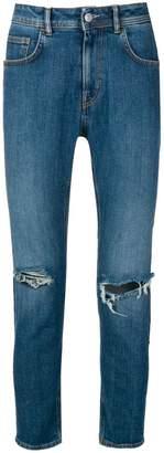 Haikure distressed slim-fit jeans