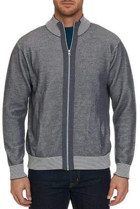 Robert Graham Men's Conboy Wool-Blend Zip-Front Sweater