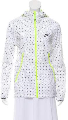 Nike Polka Dot Wind Breaker