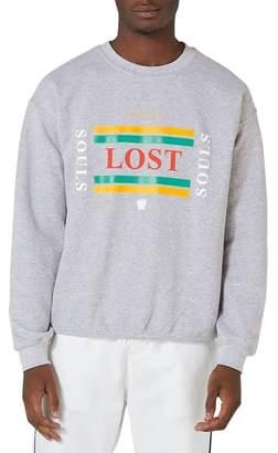Topman Souls Graphic Sweatshirt