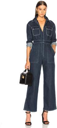 ALEXACHUNG Oversized Boiler Suit