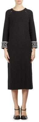 Kenzo Logo Midi Sweater Dress