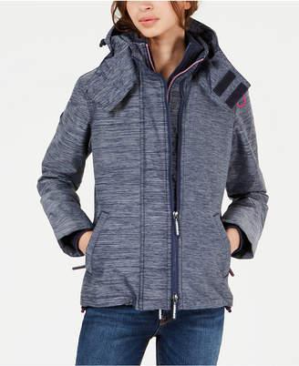 Superdry Mock-Neck Hooded Jacket