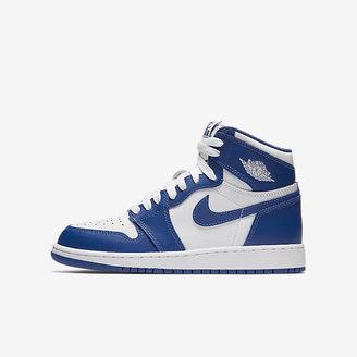 Air Jordan 1 Retro High OG Big Kids' Shoe $120 thestylecure.com
