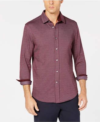 Tasso Elba Men's Herringbone Shirt, Created for Macy's