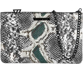 Kelly Wynne Risky Biz Convertible Leather Wristlet