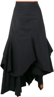 Loewe (ロエベ) - Loewe ドレープ スカート