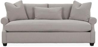 Robin Bruce Bristol Roll-Arm Sofa - Greige Crypton