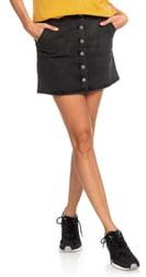 Roxy Wild Young Spirit Denim Miniskirt