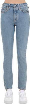 Levi's 501 High Rise Slim Jeans
