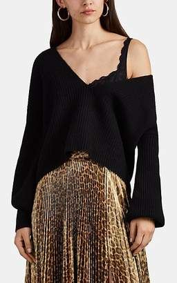 A.L.C. Women's Melanie Ribbed Merino Wool Sweater - Black