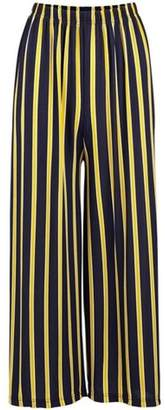Dorothy Perkins Womens *Izabel London Multi Coloured Wide Leg Trousers