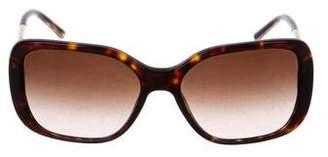 Burberry Logo Square Gradient Sunglasses