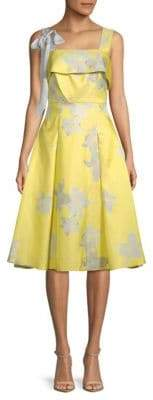 Brianna Floral A-Line Dress