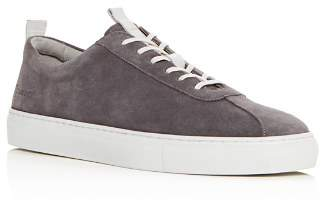 Grenson Men's Suede Lace Up Sneakers