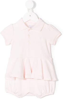 Ralph Lauren peplum top and bloomer shorts set
