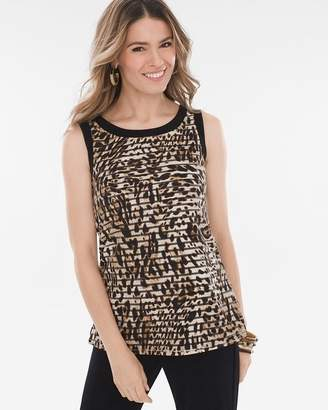 Travelers Collection Leopard-Print Tank