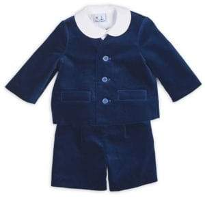 Florence Eiseman Baby Boy's Three-Piece Top, Jacket & Short Set