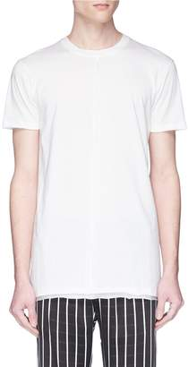 Damir Doma 'Tegan' raw layered hem T-shirt