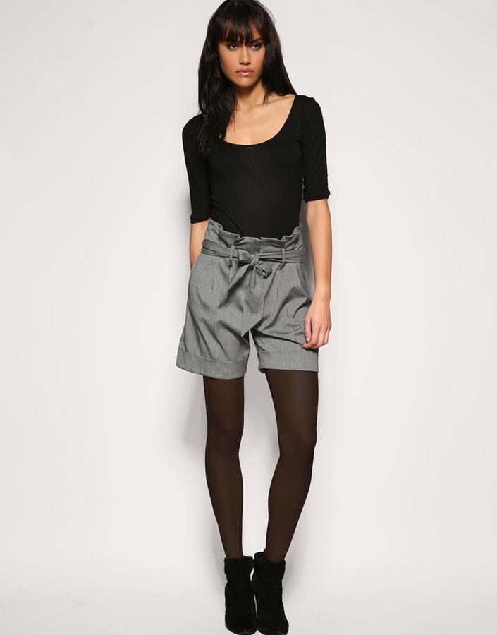 ASOS Paperbag Waist Shorts