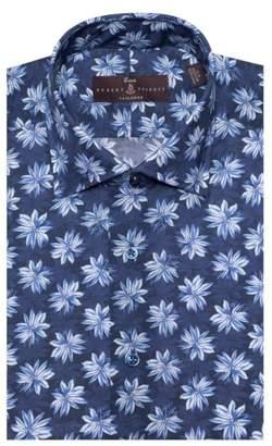 Robert Talbott Tailored Fit Floral Dress Shirt