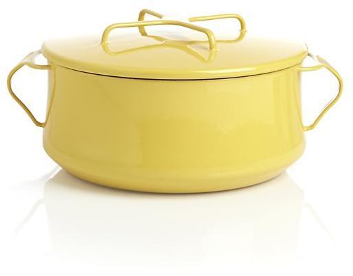 Dansk Kobenstyle Yellow 4-Quart Casserole