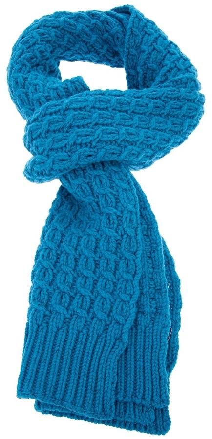 Stella McCartney cable knit scarf