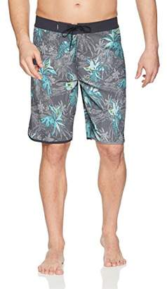 O'Neill Men's Hyperfreak Scallop with Back Pocket Stretch Boardshort