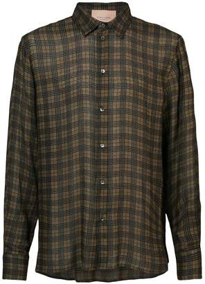 Federico Curradi check shirt