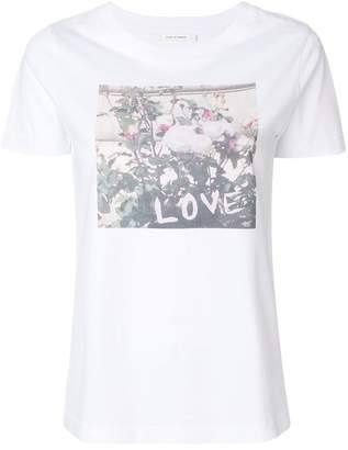 Parker Chinti & roses print T-shirt