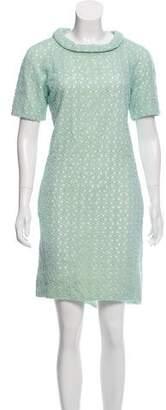 Diane von Furstenberg Crocheted Shift Dress