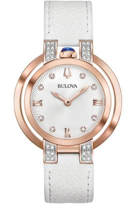 Bulova Ladies Rubaiyat Watch 98R243