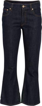 Carven Crop Flare Jeans