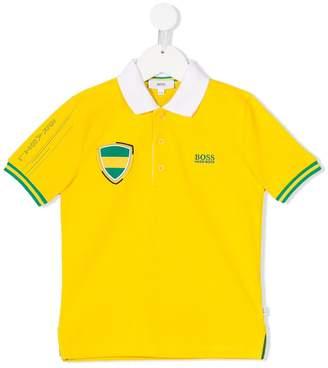 Boss Kids short sleeve polo shirt