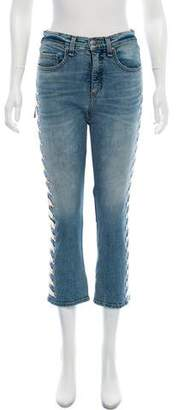 Veronica Beard Ines Girlfriend Mid-Rise Jeans w/ Tags