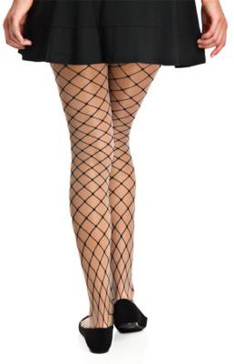 Berkshire Diamonds and Pearls Fishnet Tights