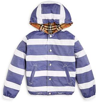 Burberry Boys' Mayer Hooded Reversible Jacket - Little Kid, Big Kid