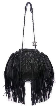 Chanel Paris-Dallas Drawstring Fringe Bag
